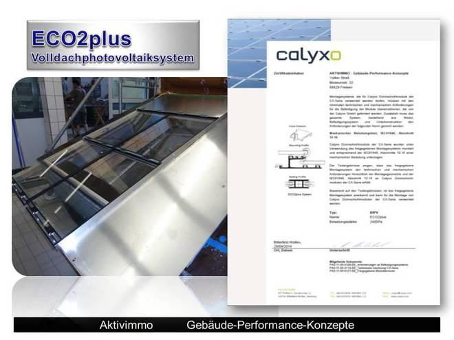 ........, Indach, Indachsystem, Ganzdachsystem ECO2plus, Photovoltaik als Dach