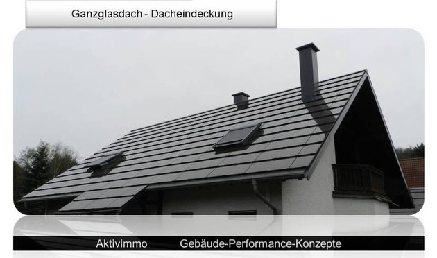 photovoltaik ganzdachsysteme in d nnschicht vom schutzdach zum nutzdach solarpaneele ersetzen. Black Bedroom Furniture Sets. Home Design Ideas